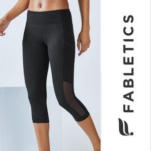 Fabletics Curacao Capri workout leggings black XXL